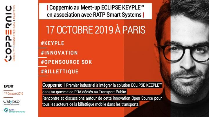 Coppernic a intégré le SDK Eclipse Keyple dans ses solutions contrôle dédiées au Transport Public